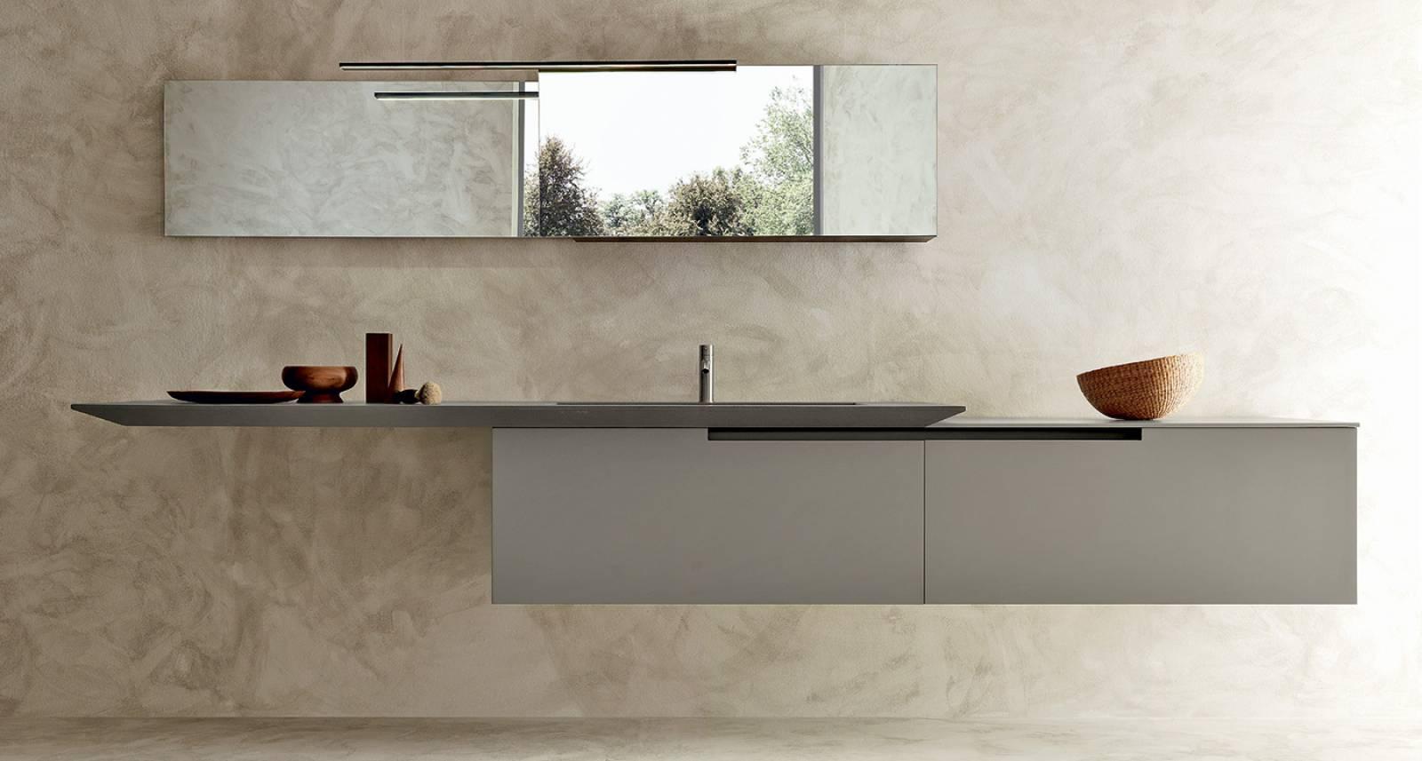 Salle de bain épurée au design Italien Haut de Gamme Proche ...